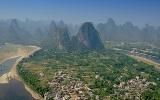 Yangshuo Guilin Guangxi de China wallpapers and stock photos