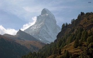 Matterhorn Italy Switzerland wallpapers and stock photos