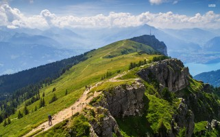 Niederhorn Switzerland Europe wallpapers and stock photos