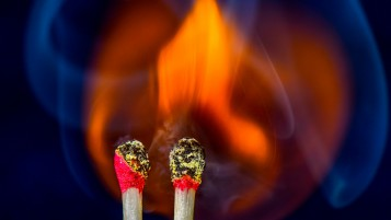 Random: Matches on Fire