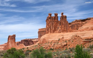 The Three Gossips Utah wallpapers and stock photos