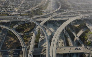 Los Angeles Highway wallpapers and stock photos