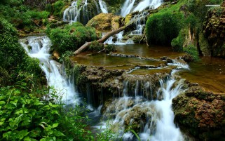 Beautiful Waterfalls & Scenic wallpapers and stock photos