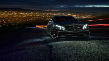 Mercedes-Benz E63 AMG S wallpapers and stock photos