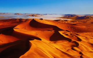 Perfect Golden Sand Desert wallpapers and stock photos