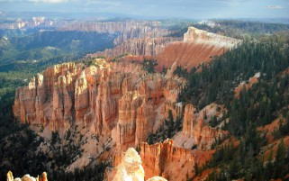 Mighty Bryce Canyon wallpapers and stock photos