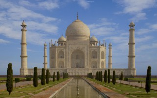 Taj Mahal Agra India wallpapers and stock photos