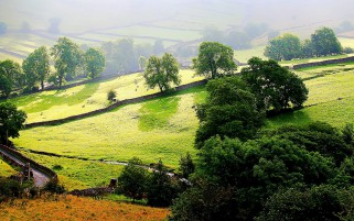 Malham North Yorkshire England wallpapers and stock photos