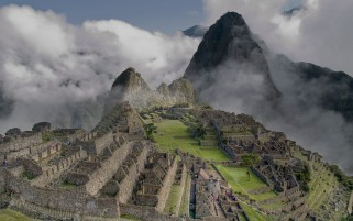 Machu Picchu Four wallpapers and stock photos
