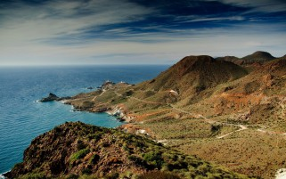 Cabo De Gata Andalucia Spain wallpapers and stock photos