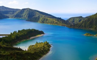 Sao Miguel Azores Portugal wallpapers and stock photos