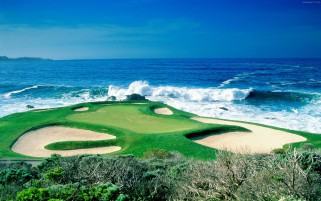 Pebble Beach California wallpapers and stock photos
