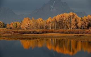 Jackson Hole Valley Wyoming wallpapers and stock photos