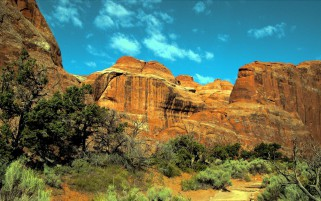Devils Garden Moab Utah wallpapers and stock photos
