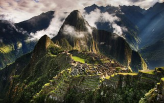 Machu Picchu Eight wallpapers and stock photos