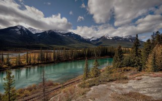 Lovely Alberta Banff Canada wallpapers and stock photos
