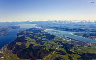 Lake Constance Swiss Austria wallpapers and stock photos