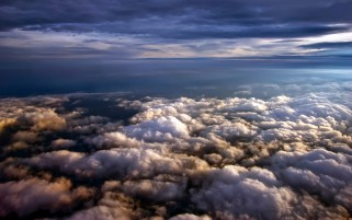 Above The Fluffy Clouds wallpapers and stock photos