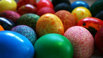 Painted Easter Eggs wallpapers and stock photos