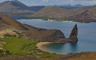Nice Galapagos Lake Ecuador wallpapers and stock photos
