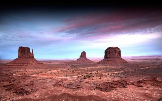 Monument Vale Purple Sky Utah wallpapers and stock photos