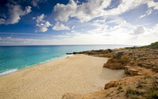 Beach Nether Lands Antilles wallpapers and stock photos