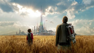 Tomorrowland Movie Still wallpapers and stock photos