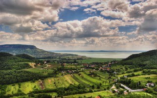 Pretty Scenery Balaton Hungary wallpapers and stock photos