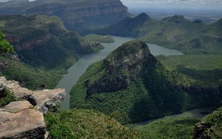 Blyde River Canyon Africa wallpapers and stock photos