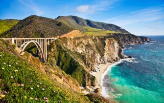 Bixby Creek Bridge România wallpapers and stock photos