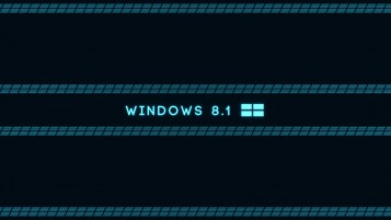 Microsoft Windows 8.1 OS Blau wallpapers and stock photos