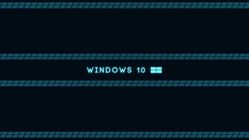Microsoft Windows 10 OS Blue wallpapers and stock photos