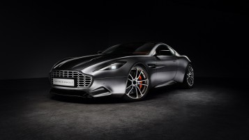 Aston Martin Thunderbolt Side Angle wallpapers and stock photos