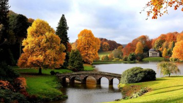 Previous: Trees Lake Bridge England