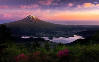 Mount Fuji Japan Asia wallpapers and stock photos