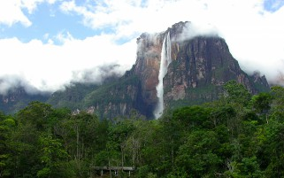 Mount Roraima Blurry Venezuela wallpapers and stock photos