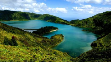Lovely Sao Miguel Portugal wallpapers and stock photos