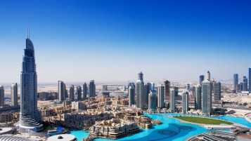 Dubai Overview wallpapers and stock photos