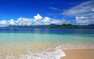 Wonderful Ocean Island Beach wallpapers and stock photos