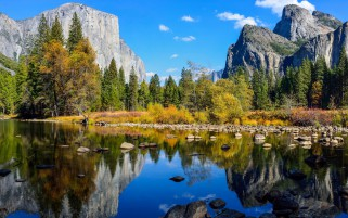 Beautiful Scenery Yosemite wallpapers and stock photos