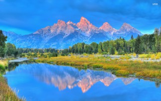 Pretty Grand Teton Wyoming wallpapers and stock photos
