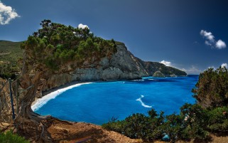 Porto Katsiki Lefkada Greece wallpapers and stock photos