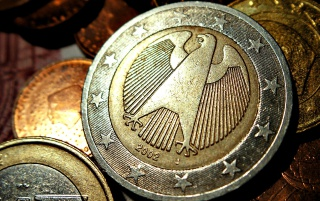 German 2 Euro Coins wallpapers and stock photos