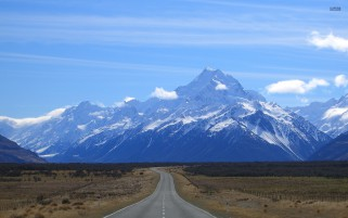 Nice Mount Cook New Zealand wallpapers and stock photos