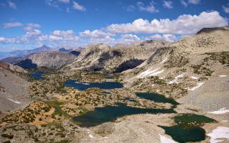 Lovely Mountains Lakes Plants wallpapers and stock photos