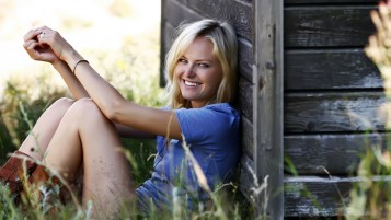Malin Akerman Lächeln wallpapers and stock photos