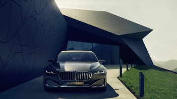 BMW Vision Zukunft Luxury Konzept wallpapers and stock photos