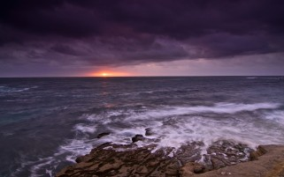 Previous: Wild Ocean Rocks Purple Sky