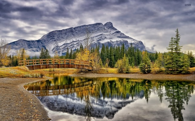 Magnificent Alberta Banff wallpapers and stock photos