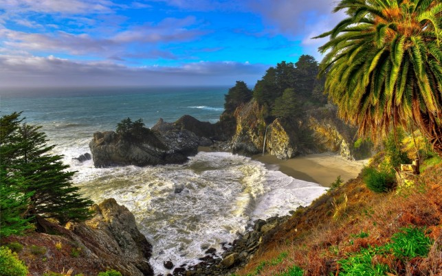 Julia Pfeiffer Burns, StatePark wallpapers and stock photos